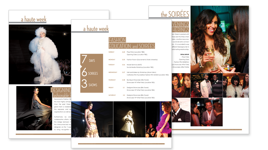 Fashion Sponsorship Package Design