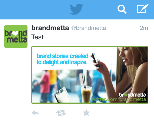 twitter image right size dimension brandmetta